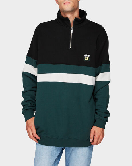 LINE HALF ZIP FLEECE JUMPER