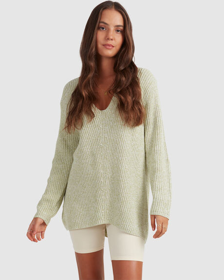 SLOUCH V SWEATER