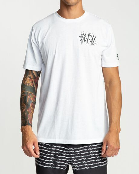 DEFER CHEST SHORT SLEEVE TEE