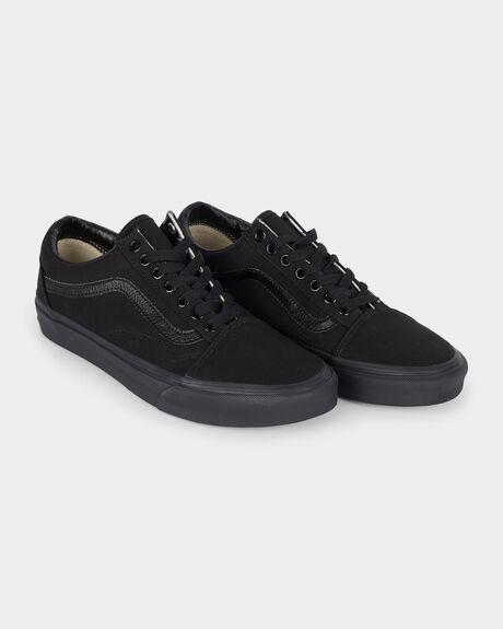 OLD SKOOL VANS BLACK/BLACK SHOE