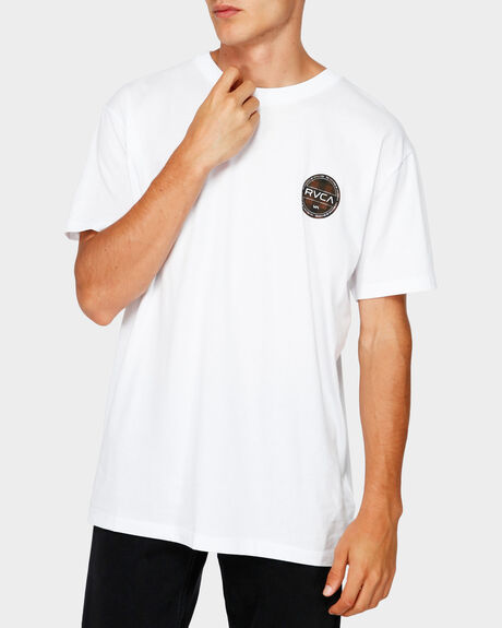 RVCA CHECKERS SHORT SLEEVE TEE