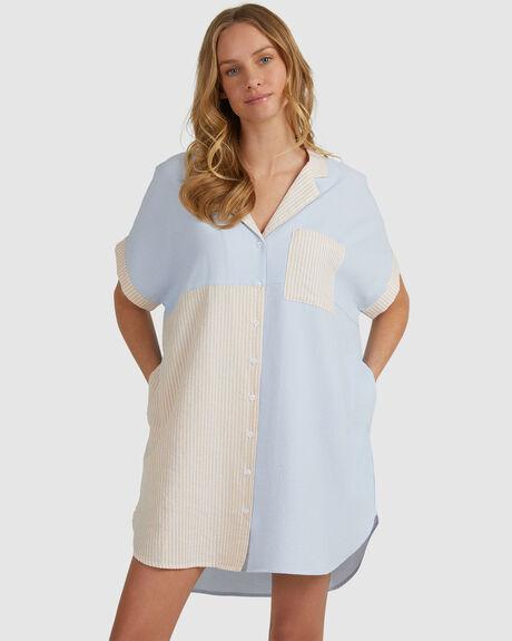 EXCHANGE SHIRT DRESS