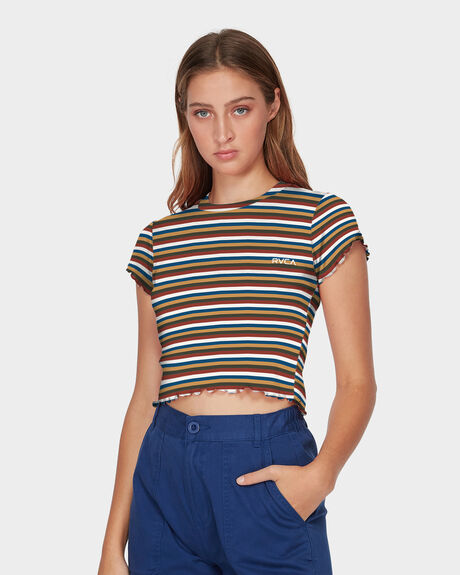 LET US STRIPE TEE