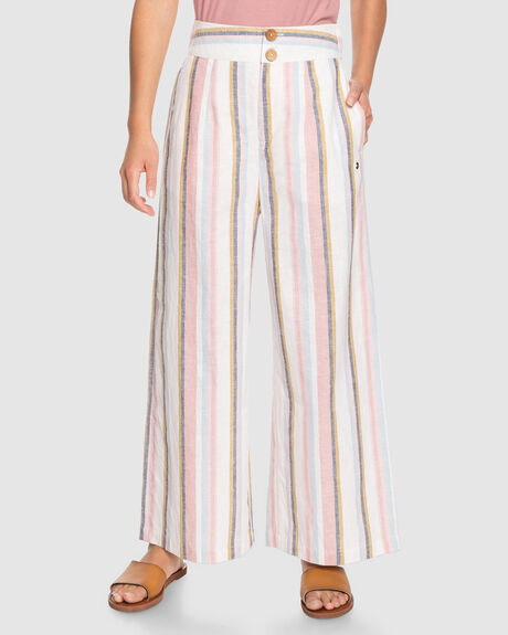 WOMENS SAILING TRIP WIDE LEG TROUSERS