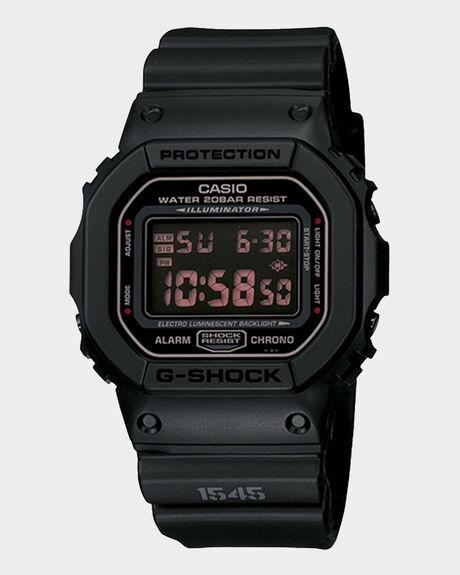 G-SHOCK - MATTE BLACK - DW5600MS-1D