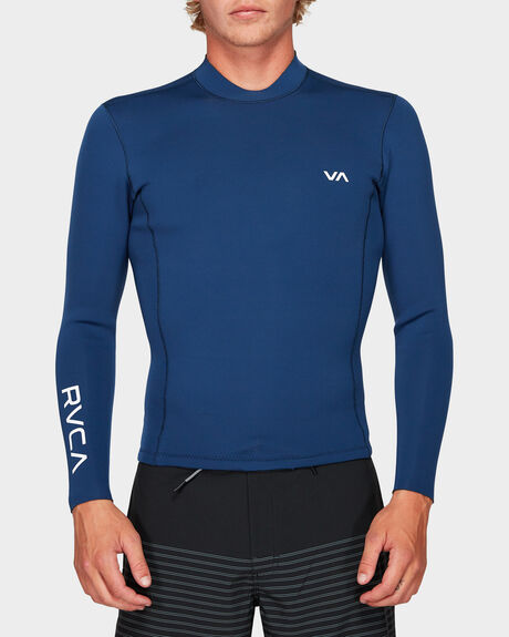 MENS BACK ZIP NEOPRENE 2 PULLOVER