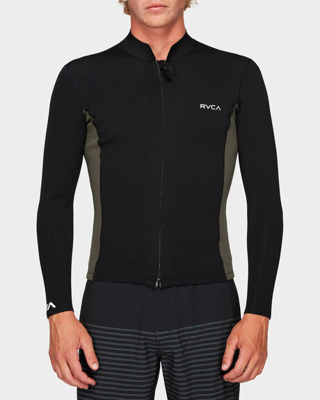MENS FRONT ZIP NEOPRENE JACKET