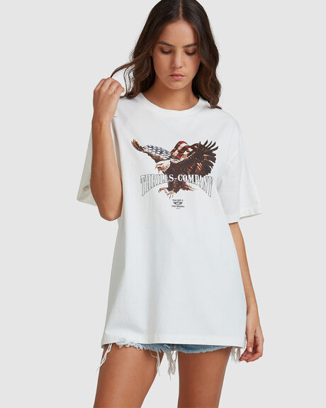 WOMENS THRILLS UNION MERCH FIT TEE