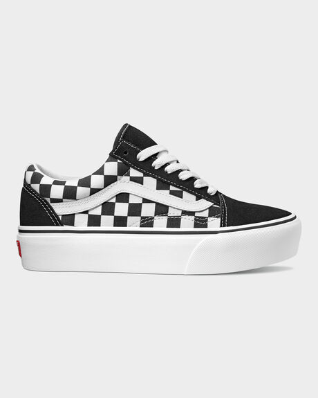 OLD SKOOL PLATFORM CHECKERBOARD SHOE