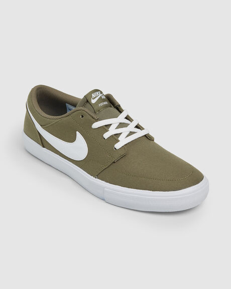 NIKE SB SOLARSOFT PORTMORE II CANVAS SHOE