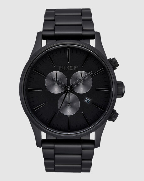 SENTRY CHRONO ALL MATTE BLACK/