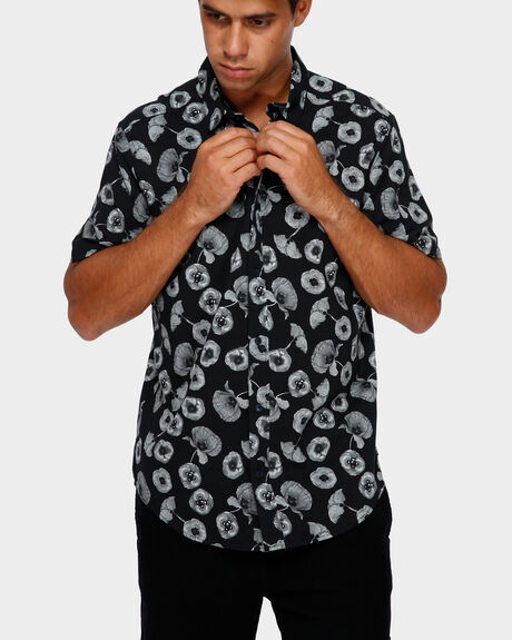 PEACE POPPY SHORT SLEEVE SHIRT