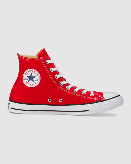 ALL STAR RED HI CUT