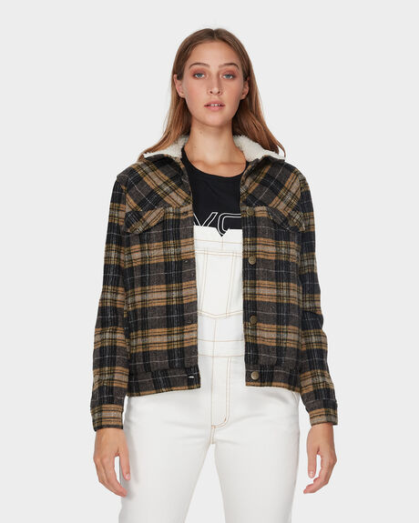 PLAID MERC JACKET