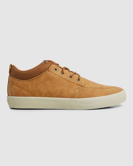 GS CHUKKA LIGHT BROWN/CREPE