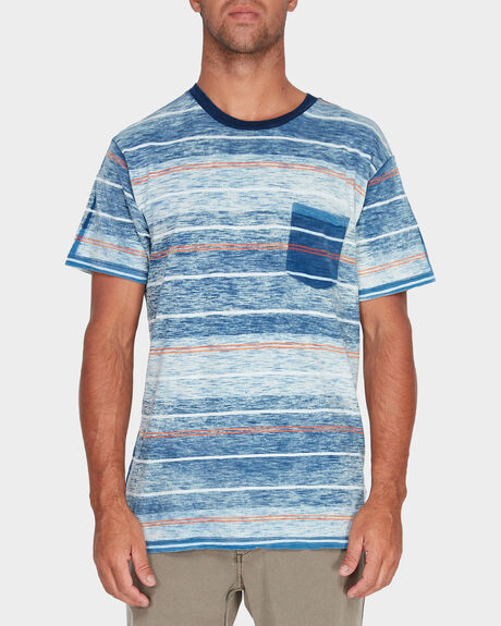 RUSHOLME STRIPE SS TEE