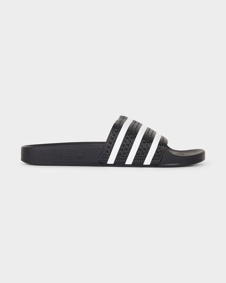 b42175add53cf Black1/white/black ADIDAS ADILETTE BLACK1/WHITE/BLACK SLIDE | Amazon ...