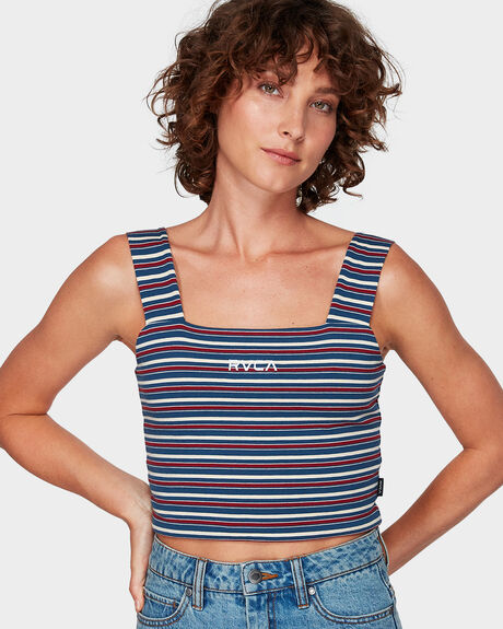 HOLIDAY STRIPES TANK